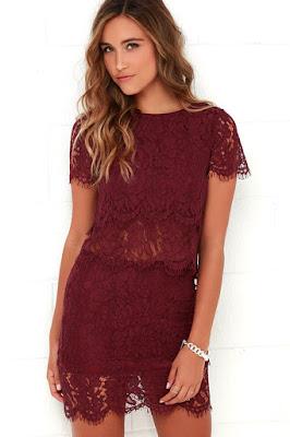 opciones de Vestidos rojos