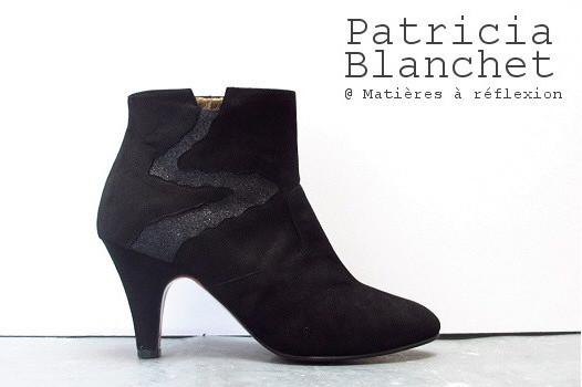 Boots Patricia Blanchet Deborah Noires all black !