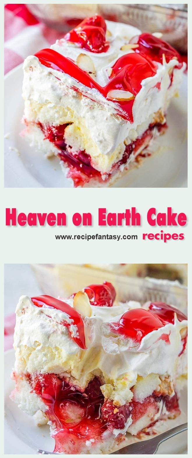 Heaven on Earth Cake Recipes 2019
