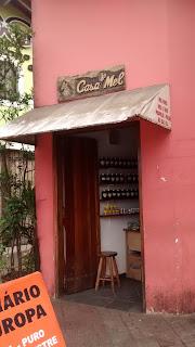 A charmosa Casa do Mel, em Itanhaém