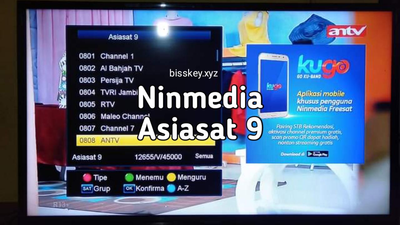 Cara Tracking Ninmedia di Satelit Asiasat 9