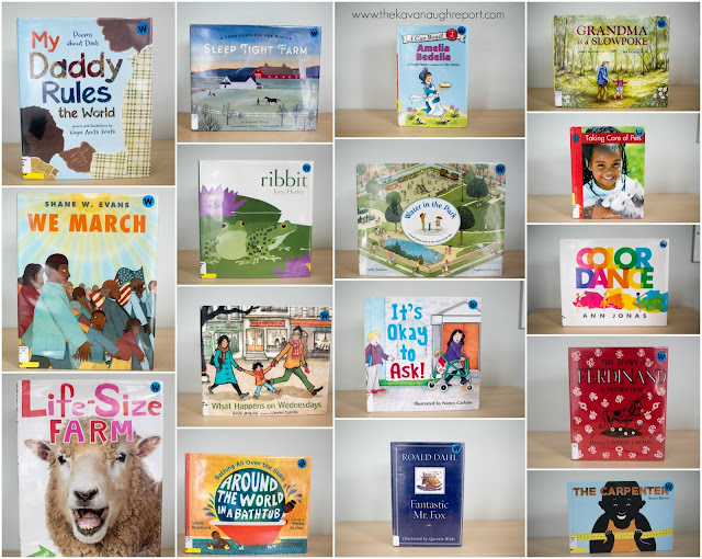 Montessori friendly children's books