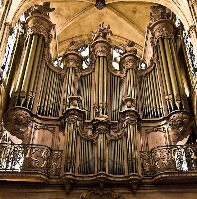 koncerty organowe w Paryżu