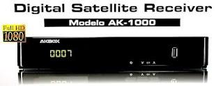 Atualizacao para o receptor Akbox AK 1000 v003