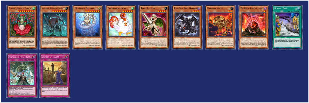 DGame Links | Duel Links: 20th Main Box: Blazing Rose