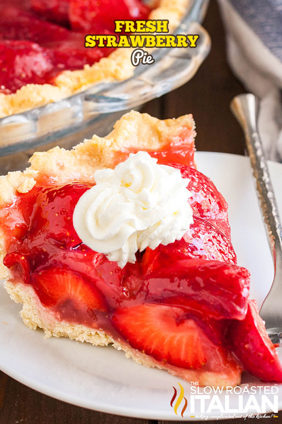 Fresh Strawberry Pie Video