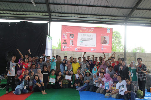 Di Balik Layar Jambore Relawan Sekolah Raya