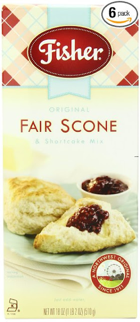 fisher fair scones