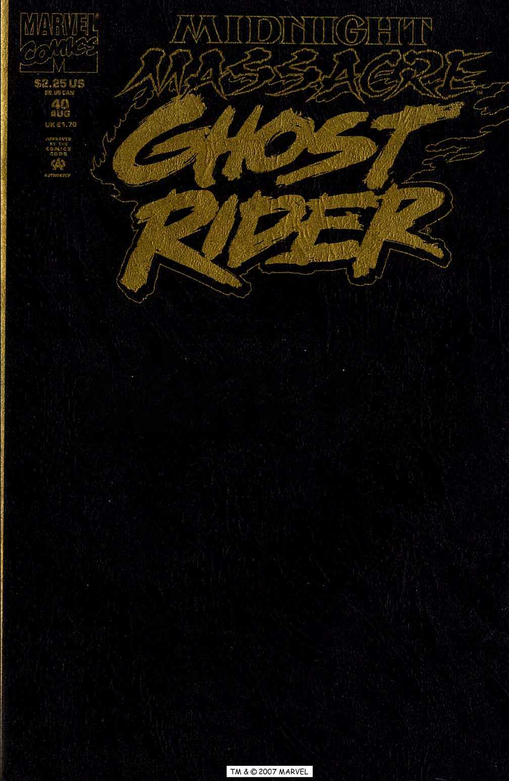 Ghost Rider (1990) 40 Page 1