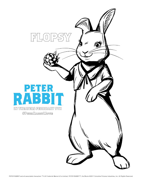 Peter Rabbit Coloring Pages, Free Kids Printables, Beatrix Potter