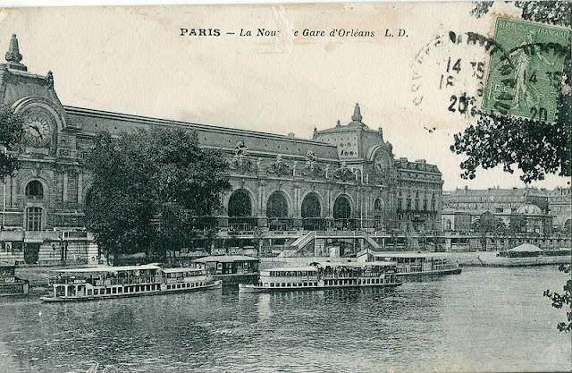 antiga estaçao d'Orléans transformada em museu, Paris