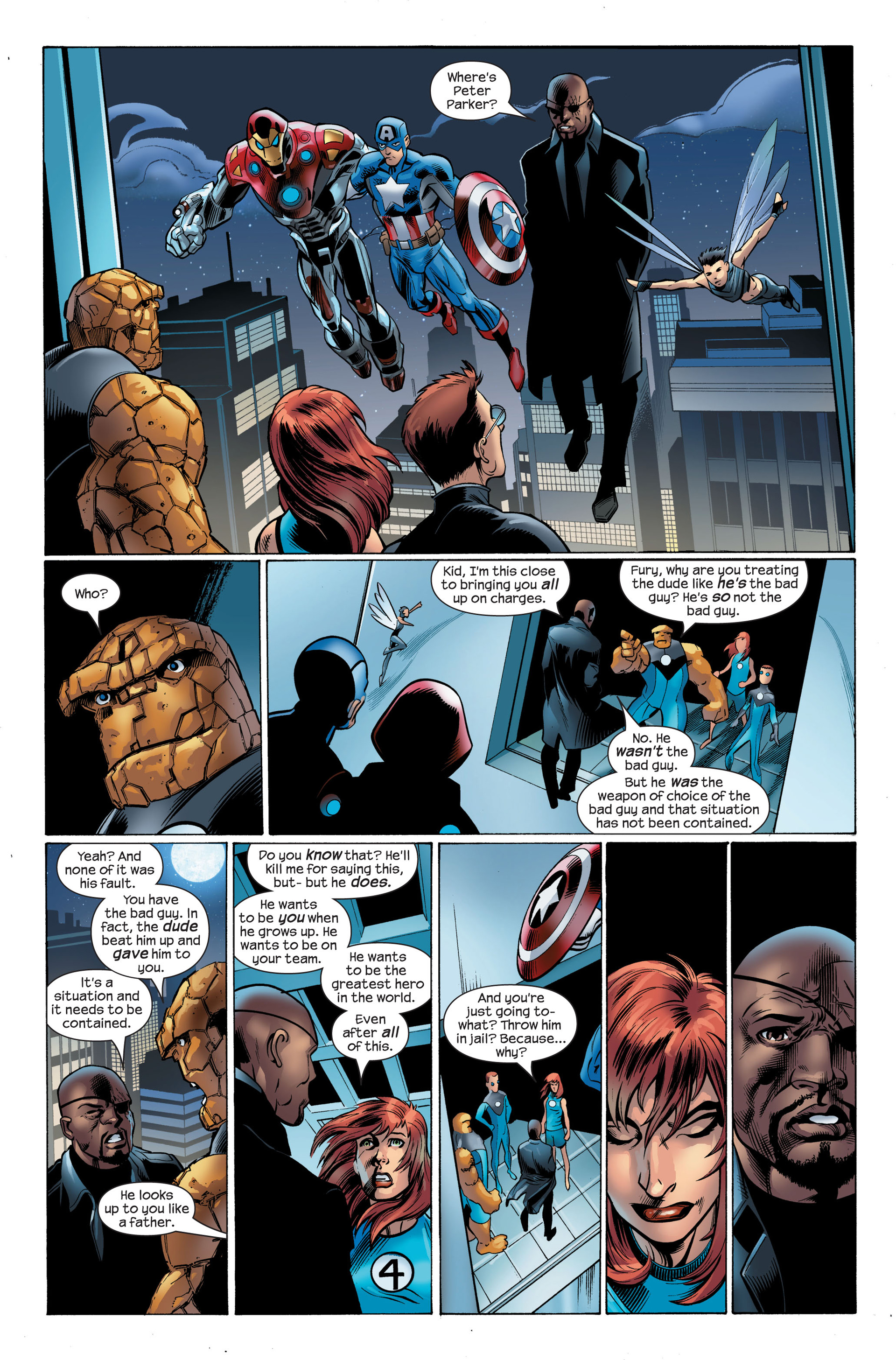 Read online Ultimate Spider-Man (2000) comic -  Issue #105 - 4