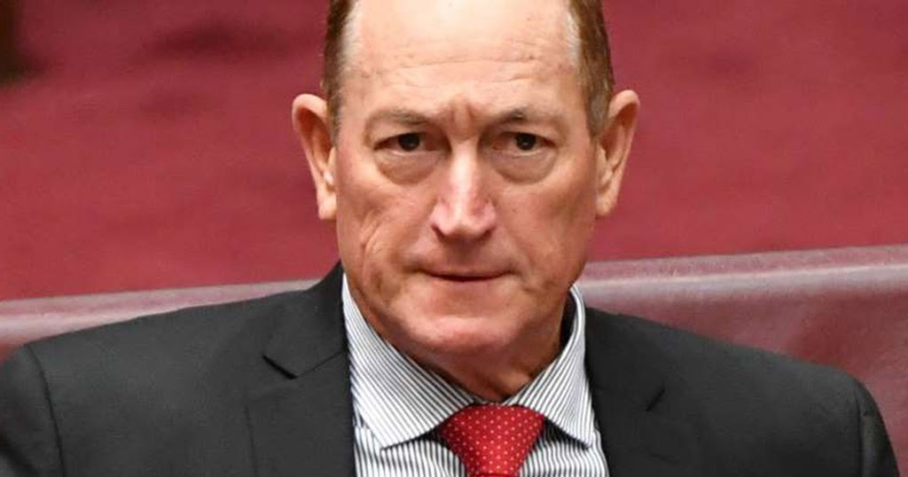 Fraser Anning Photo: The Disaffected Lib: It Is Revealed In Glimpses But This