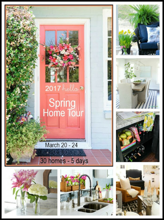 2017 Spring Home Tour - Thursday Lineup