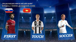 that has only been released from Vietnam Download Fts19 Mod Uefa Champions League 2018-2019 Past Times Ngo Quy Tai