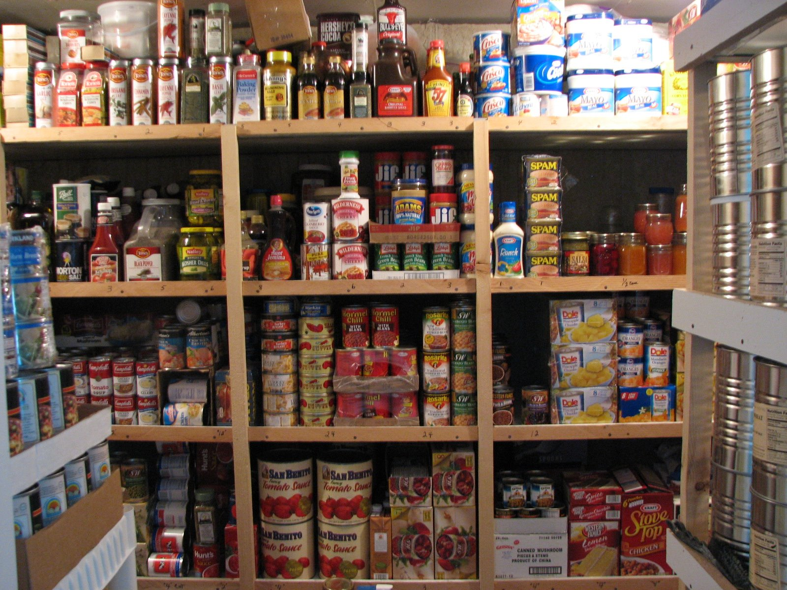 Preppers Food Storage Bunkers