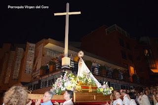2017. Fiesta de la Virgen del Coro