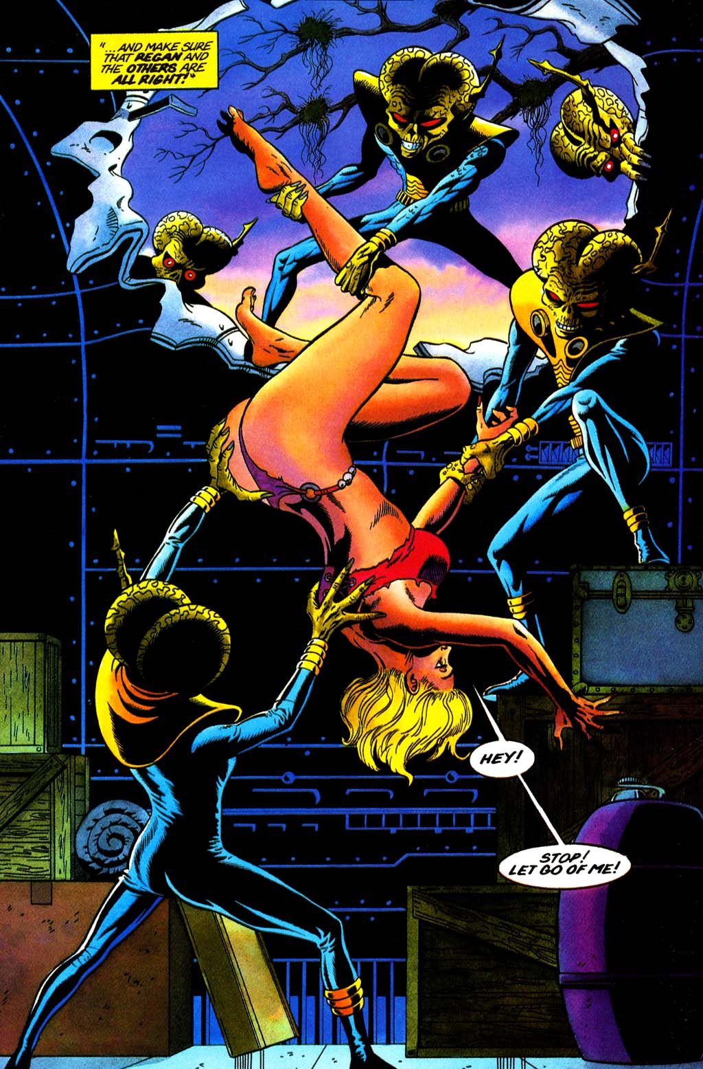 Read online Turok, Dinosaur Hunter (1993) comic -  Issue #32 - 4