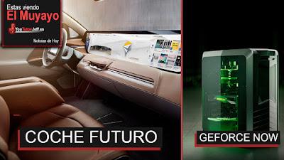 El Coche del Futuro, Byton concept Suv, noticias, LG pantalla flexible