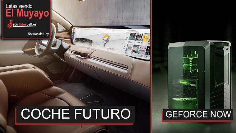 Coche del Futuro Sin Espejos y Pantalla 40 Pulgadas, OLED flexible de LG, Nvidia y + | El Muyayo