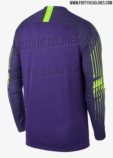 Garish  Nike Tottenham 18-19 Goalkeeper Kit Released - Footy Headlines d5c278305