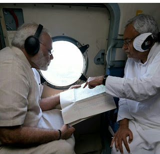 pm-visited-bihar-watch-flood-area