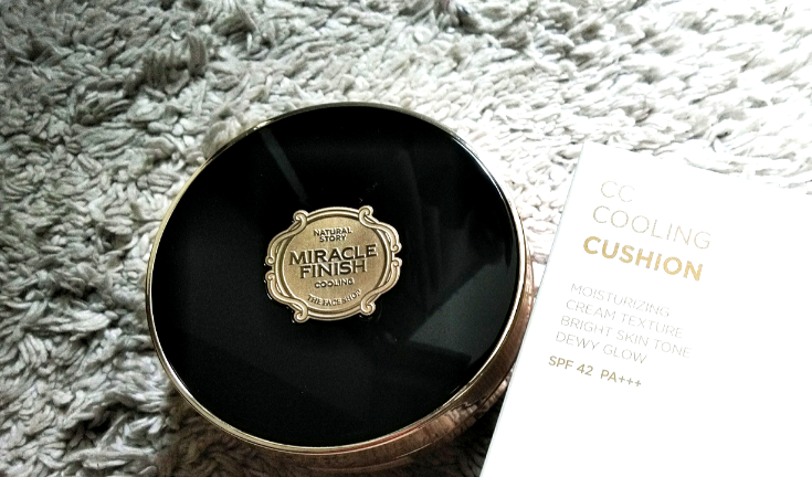 A Cushion you can re-apply without caking? | Trying The Face Shop Miracle Cushion on dry skin