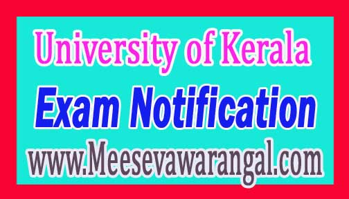 University of Kerala M.Sc Clinical Nutrition / Dietetics Ist Year May 2016 Exam Results
