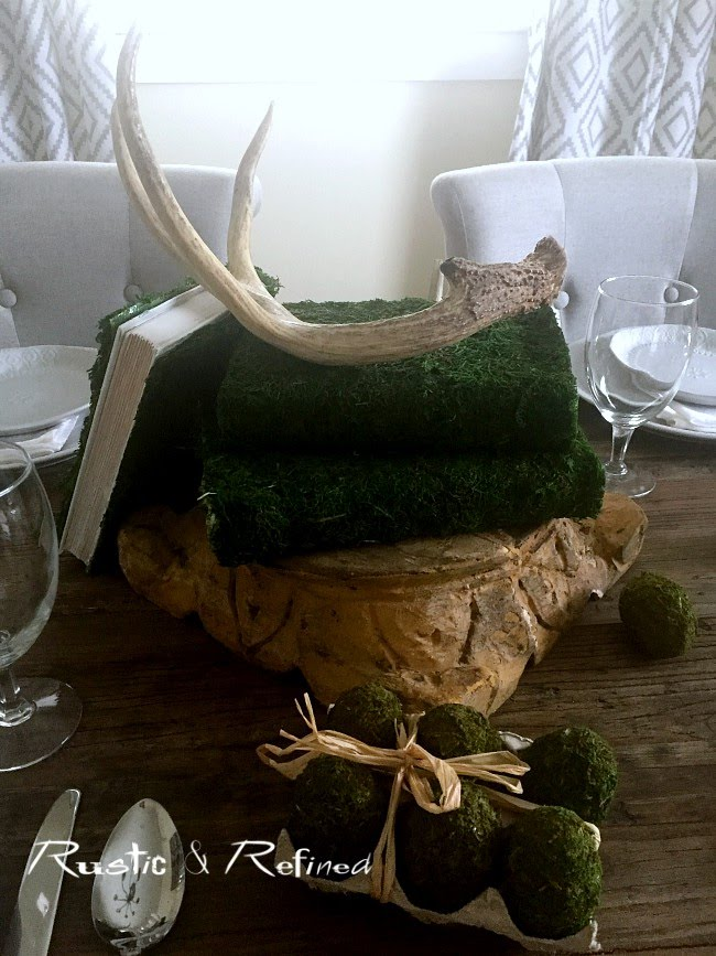 Woodland and Rustic Centerpiece Ideas