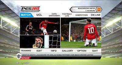 PES 2013 Graphic FIFA14 (Manchester United) by Faizal Rafly
