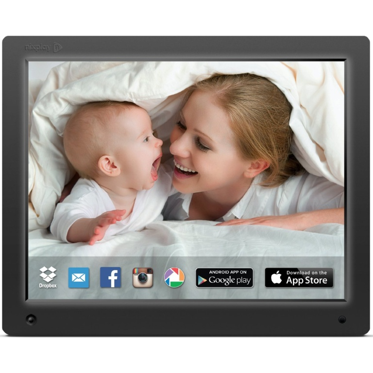 Digital Photo Frames Nixplay 12 Inch Wi Fi Cloud Digital Photo