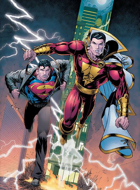 Superman y Capitán Marvel