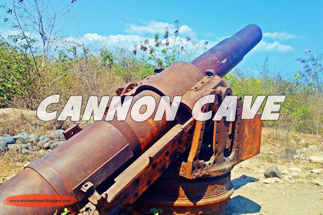 Lombok - Cannon Cave | www.meheartseoul.blogspot.com