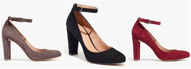 Madewell Cara Ankle Strap Heel $80 (reg $158)
