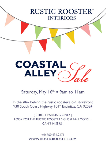 next... Coastal alley sale