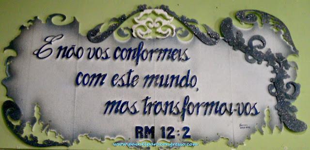 Tema para festividade da mocidade  /  Romanos 12:2