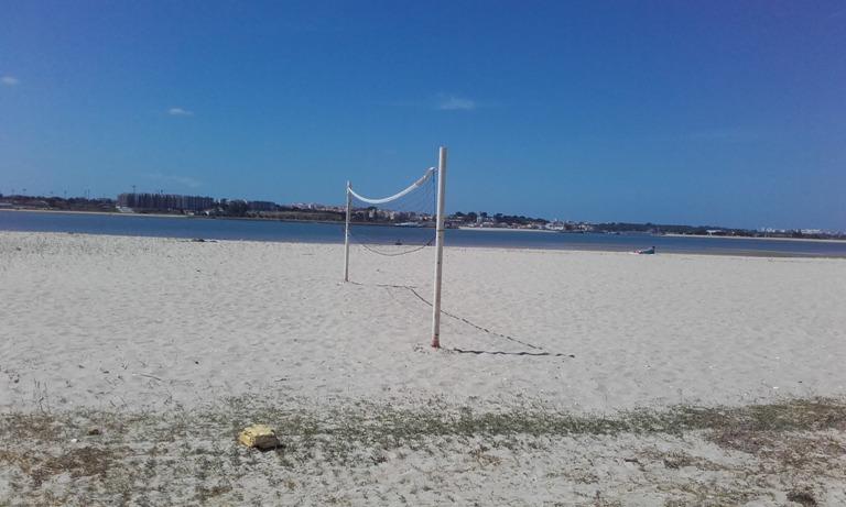 Campo de Volei de praia da Alburrica