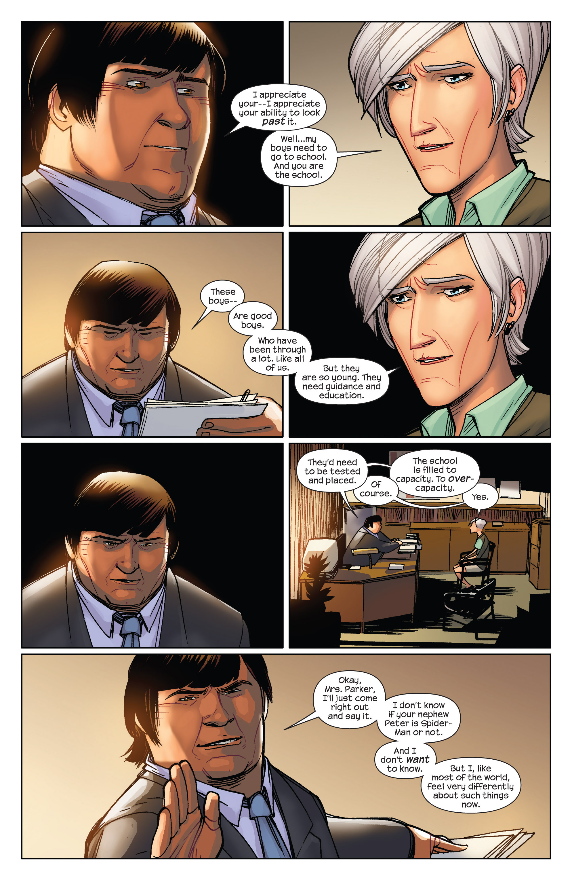 Read online Ultimate Spider-Man (2009) comic -  Issue #6 - 7