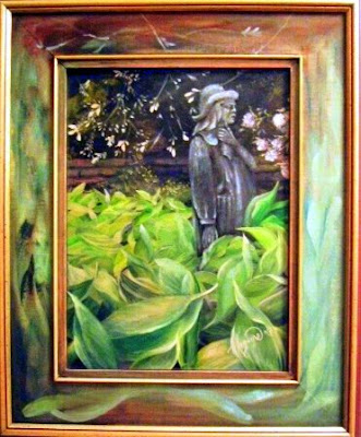 "Oil on canvas, 12x16, painted on location, Silver Springs Cemetery 1997.  Private Collection of Leonard and Lori Manning  Oshawa Ontario. ""Timeless Expression by Maguire"