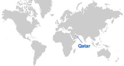 image: Qatar Map Location