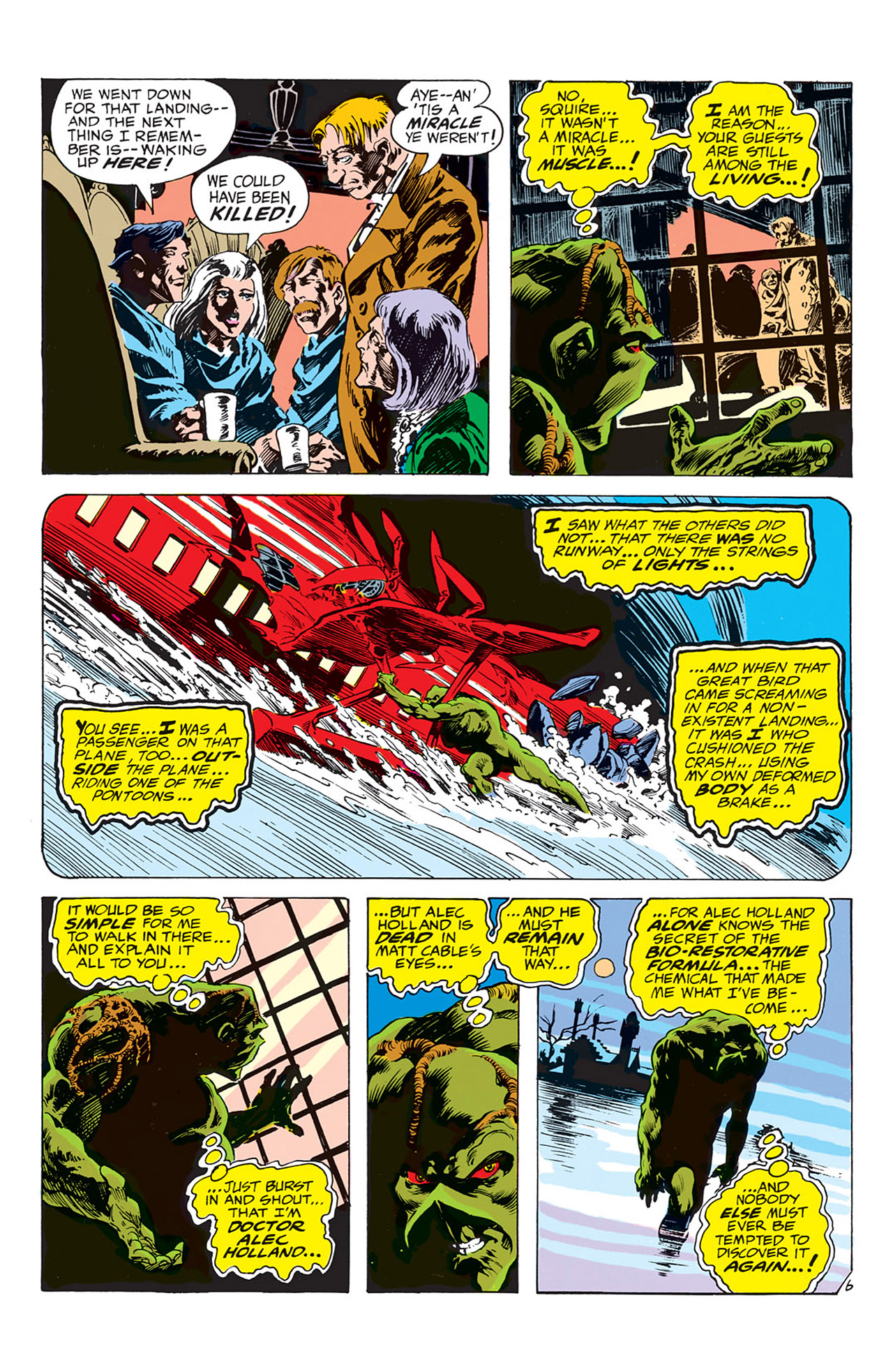 Swamp Thing (1972) Issue #4 #4 - English 7