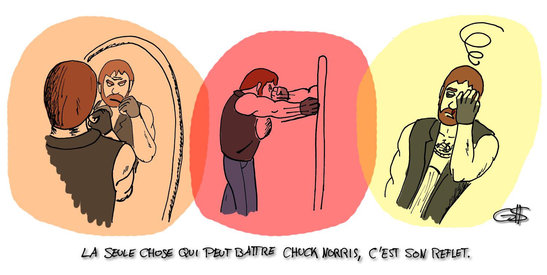 comment vaincre Chuck Norris
