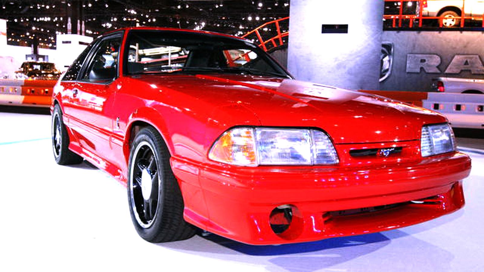 fastest ford mustangs part 2 1993 svt mustang cobra r. Black Bedroom Furniture Sets. Home Design Ideas