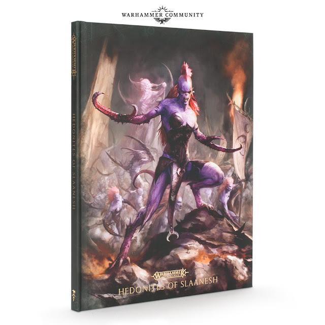edición coleccionista Battletome Hedonitas de Slaaensh