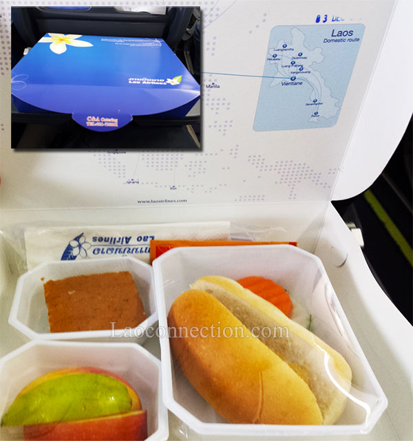 Lao Airlines Snack Food Meal
