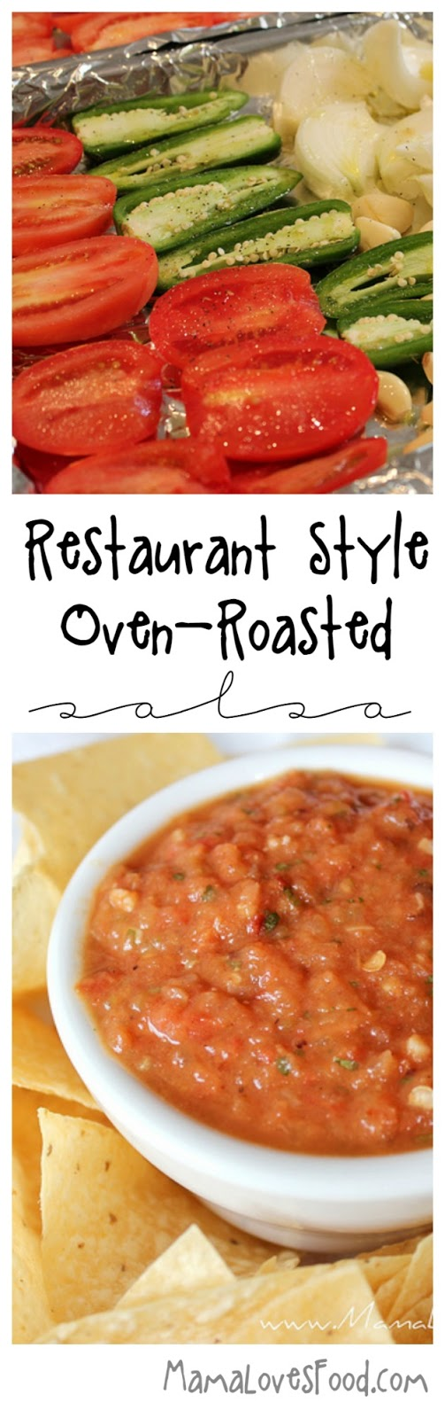 Restaurant Style Roasted Tomato and Garlic Salsa Recipe