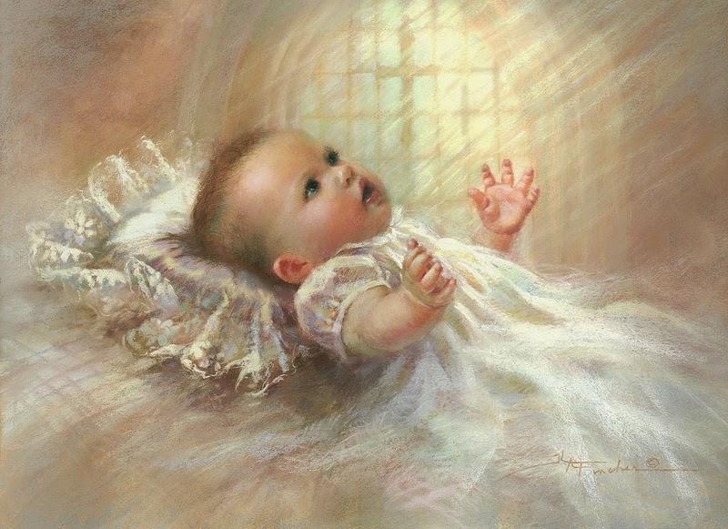 Para hacer invitaciones, tarjetas, marcos de fotos o etiquetas, para imprimir gratis de Bebés en su Bautismo.