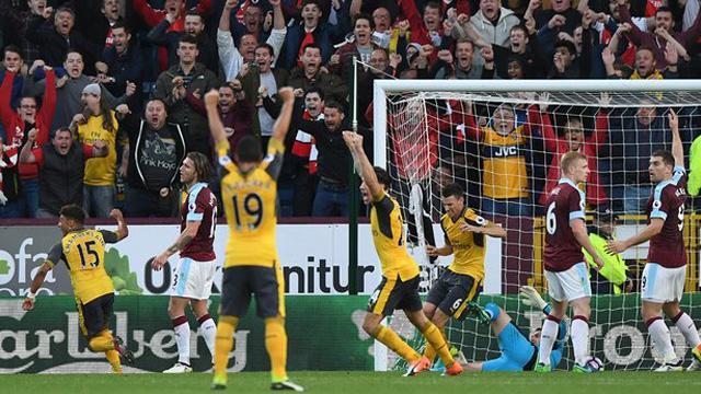 [Video] Cuplikan Gol Burnley 0-1 Arsenal (Liga Inggris)