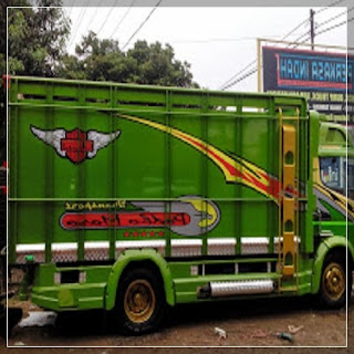30 gambar modifikasi truk canter dengan full variasi ceper