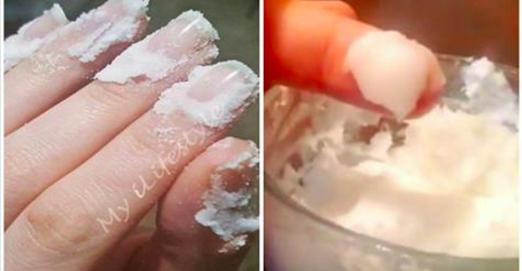 Frottez du bicarbonate de soude sur vos ongles et regardez ce qui arrive. Cette astuce va changer votre vie pour toujours !